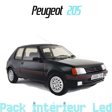 Pack intérieur led pour Peugeot 205