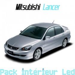 Pack intérieur led pour Mitsubishi Lancer 7