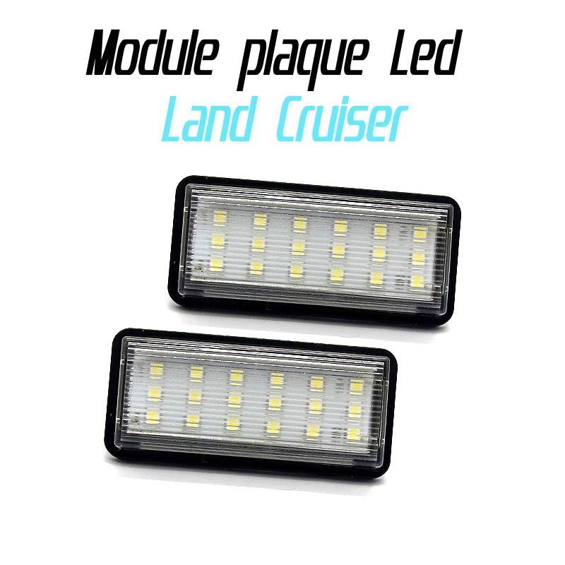 pack modules de plaque led pour toyota land cruiser led auto discount. Black Bedroom Furniture Sets. Home Design Ideas