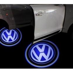 Module éclairage bas de portes LOGO LED pour Volkswagen
