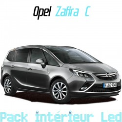 Pack intérieur led pour Opel Zafira C