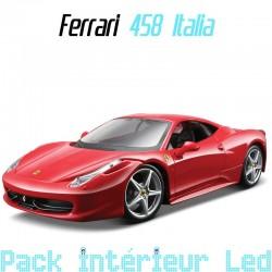 Pack Intérieur led Ferrari 458 Italia