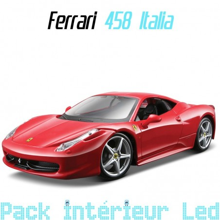 Pack intérieur led pour Ferrari 458 Italia