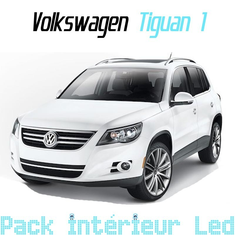 pack int rieur led pour volkswagen tiguan 1 led auto. Black Bedroom Furniture Sets. Home Design Ideas