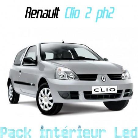 Pack intérieur led pour Renault Clio 2 phase 2