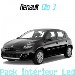 Pack Led interieur Renault Clio 3