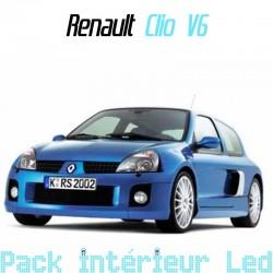 Pack intérieur led pour Renault Clio 2 V6