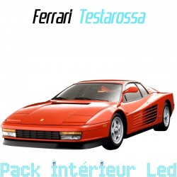 Pack Intérieur led ferrari Testarossa