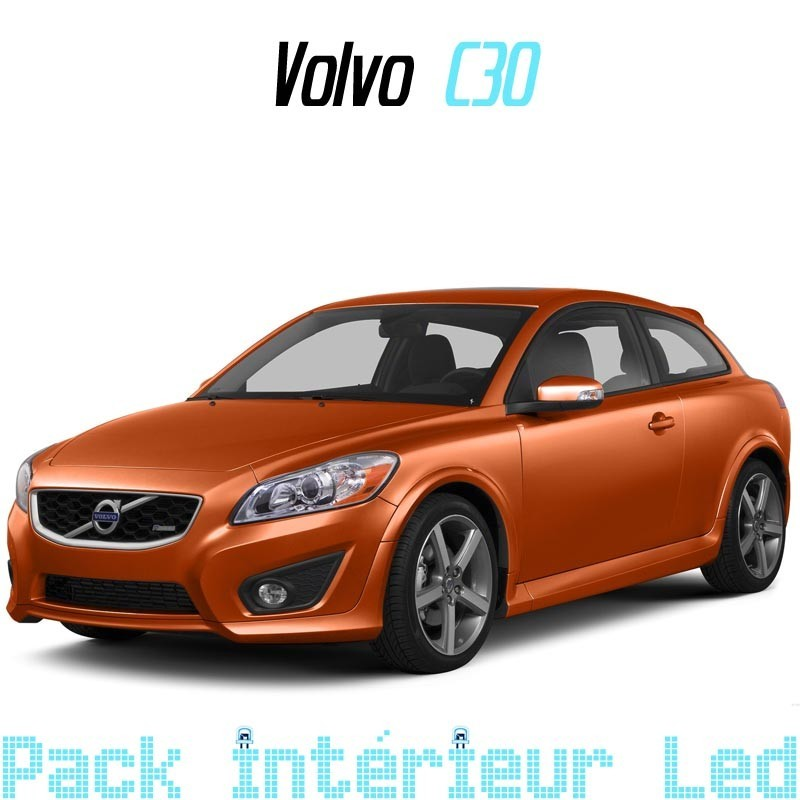 pack int rieur led pour volvo c30 led auto discount. Black Bedroom Furniture Sets. Home Design Ideas