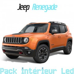 Pack Full Led interieur extérieur Jeep Renegade