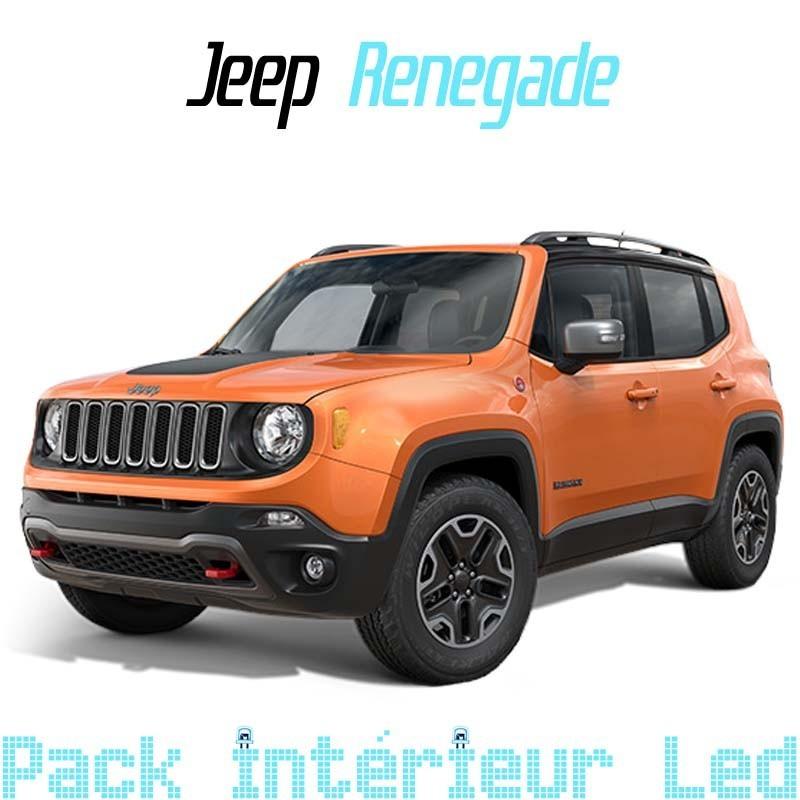 Pack Full Led interieur extérieur Jeep Renegade