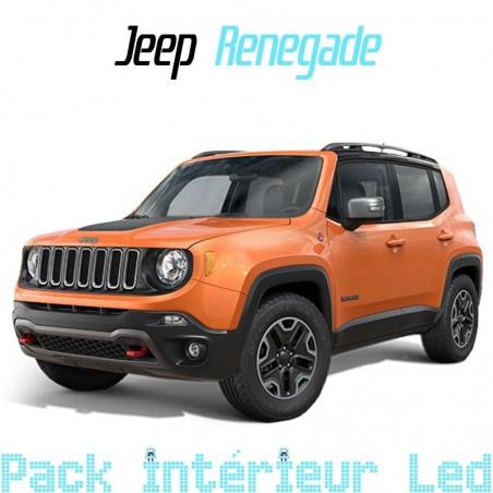 Pack intérieur led pour Jeep Renegade