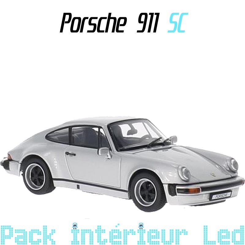 Pack Full Led interieur Porsche 911type G