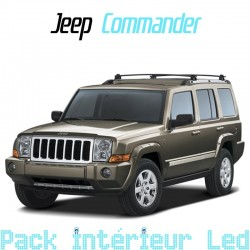 Pack Full Led interieur Jeep Patriot