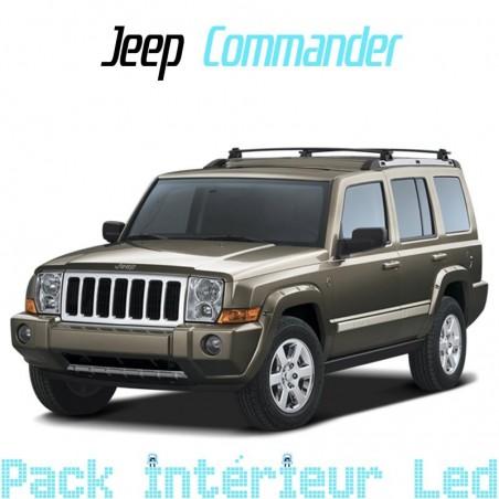 Pack intérieur led pour Jeep Commander