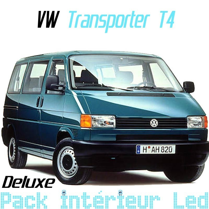 Pack led Intérieur Deluxe Volkswagen Transporter T4 Combi