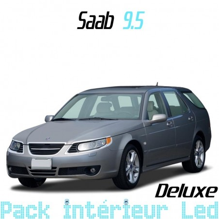 Pack intérieur Led Deluxe Saab 9.5