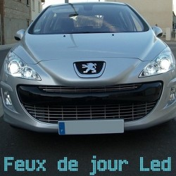 Pack feux de jour led pour Peugeot 308