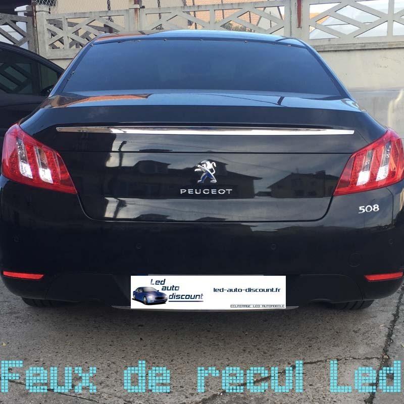 Pack Feux de Recul Led pour Peugeot 508