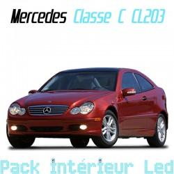 Pack Led Interieur Mercedes Classe C CL203