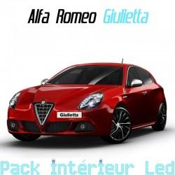 Pack intérieur led pour Alfa Roméo Giulietta