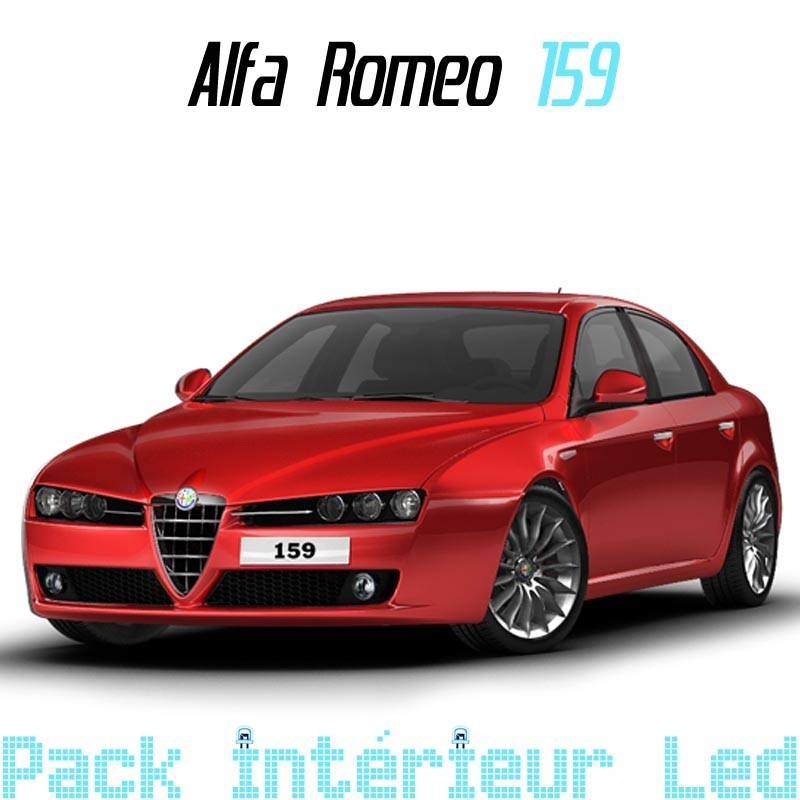 pack int rieur led pour alfa rom o 159 led auto discount. Black Bedroom Furniture Sets. Home Design Ideas
