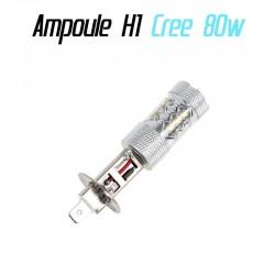 Ampoule LED H1 Cree 80w