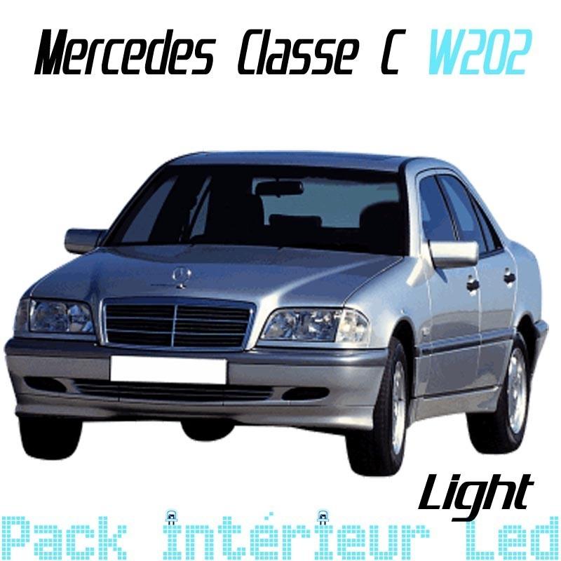Pack Full Led Interieur Extérieur Mercedes Classe C W203
