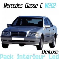 Pack Led Deluxe Intérieur Mercedes Classe C W202