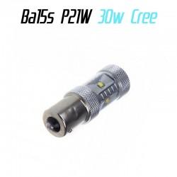 Ampoule Led P21/W Ba15s - CREE
