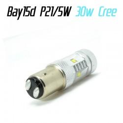 Ampoule LED P21/5W Bay15d 50W CREE