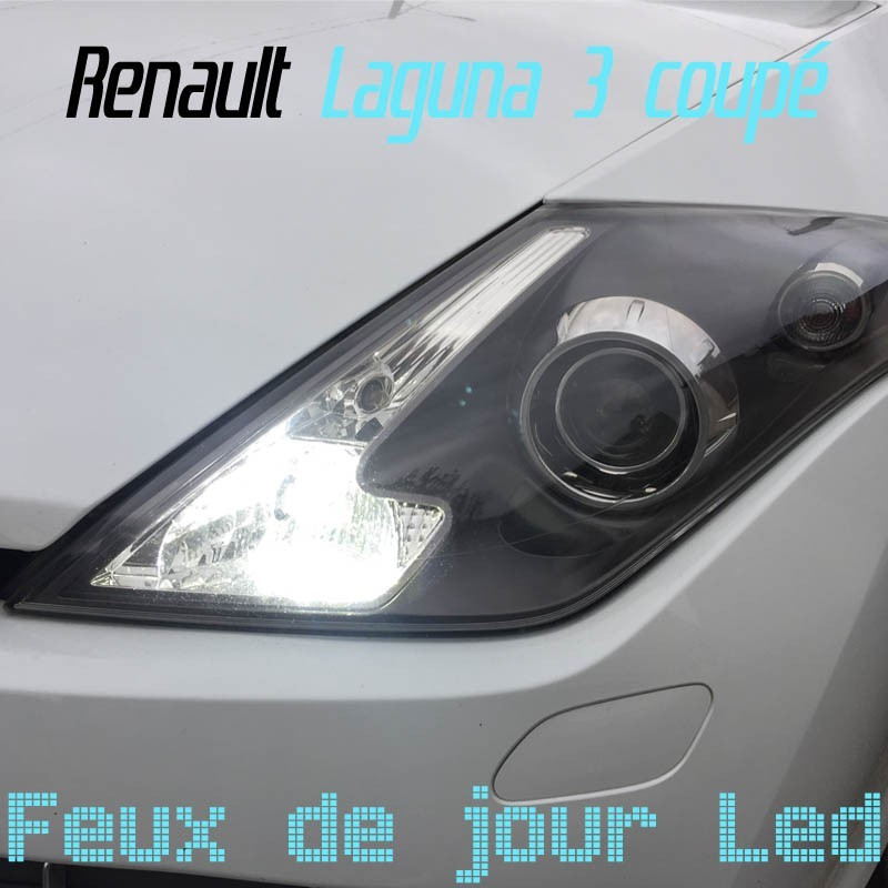 Pack feux de jour Led pour Renault Laguna 3