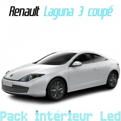 Pack Full led intérieur extérieur Renault Laguna 3 Coupé
