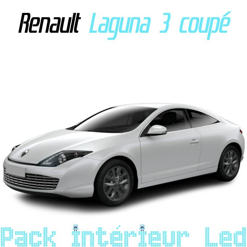 pack int rieur led pour renault laguna 3 coup led auto discount. Black Bedroom Furniture Sets. Home Design Ideas