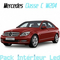 Pack intérieur led pour Mercedes Classe C W204