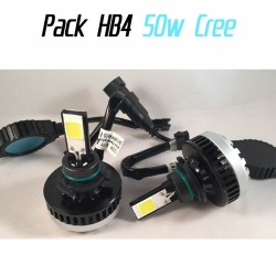 Pack antibrouillards led HB4 9006 (CREE 50w) CANBUS
