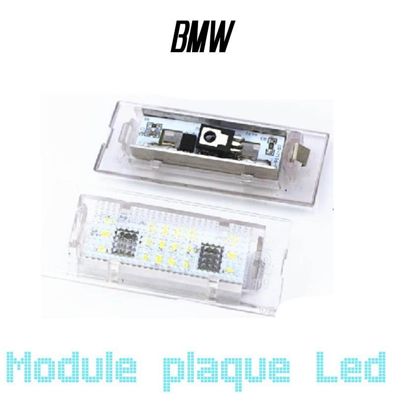 Pack Module de plaque LED pour BMW X5 E53 et X3 E83