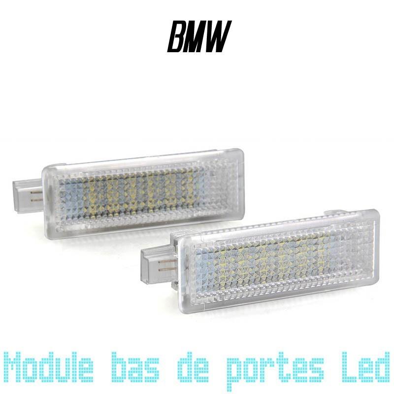 Module éclairage bas de portes LED pour BMW