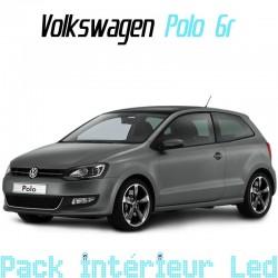 Pack intérieur led pour Volkswagen Polo 5 (6R et 6C)
