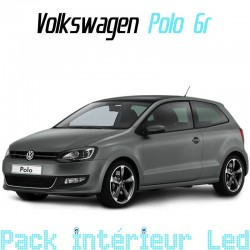 Pack intérieur led pour Volkswagen Polo 6R et 6C