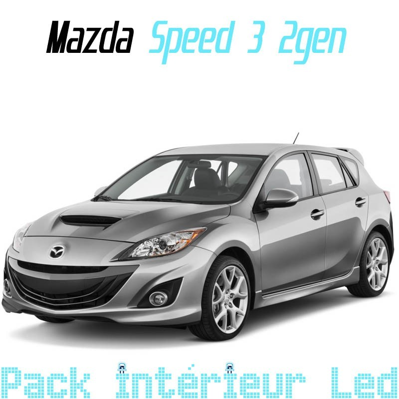 Pack Full Led Intérieur Extérieur Mazda Speed 3 gen2