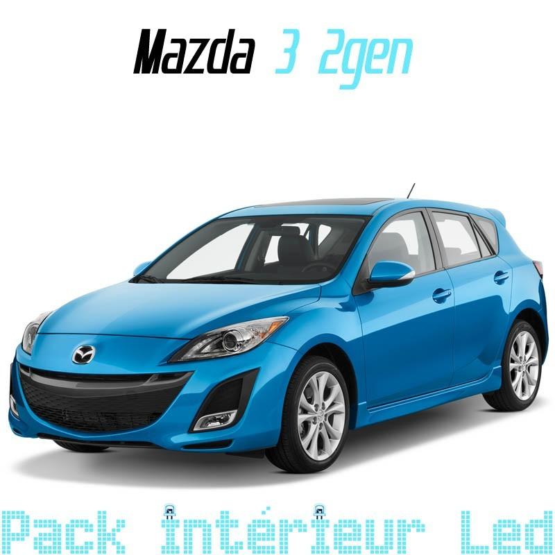 Pack Full Led Intérieur Extérieur Mazda 3 gen2