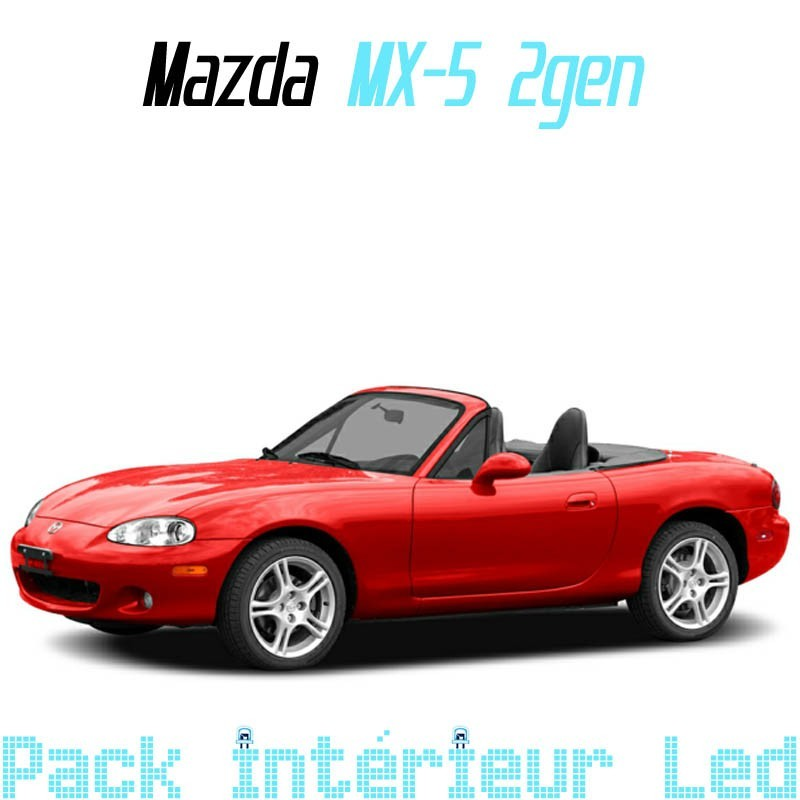Pack Full Led Intérieur Extérieur Mazda MX-5