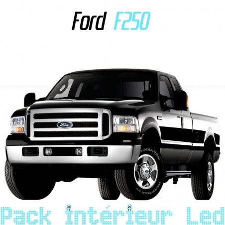 Pack intérieur led pour Ford F250 F350 F450