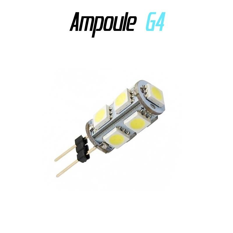 ampoule led g4 hp24w radiale 9smd 5050 led auto discount. Black Bedroom Furniture Sets. Home Design Ideas