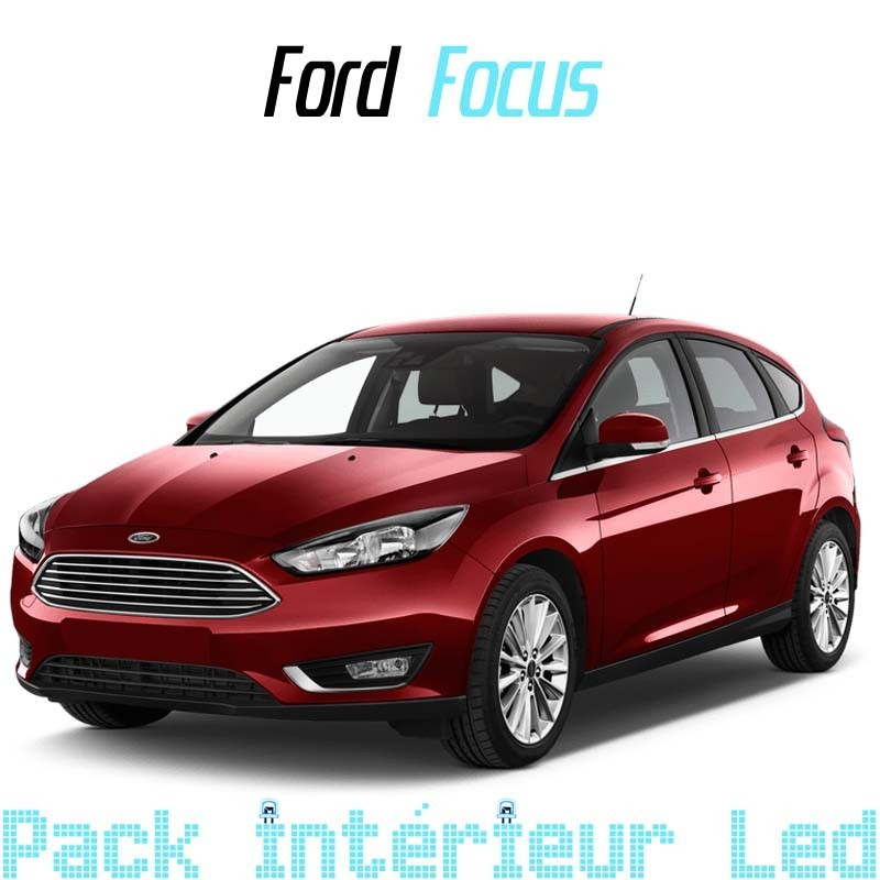 Pack Intérieur Extérieur Full led Ford Focus MK3