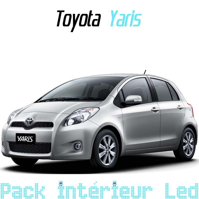 Pack Full led Intérieur Extérieur Toyota Yaris 2