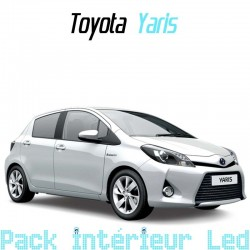 Pack Full led Intérieur Extérieur Toyota Yaris 3