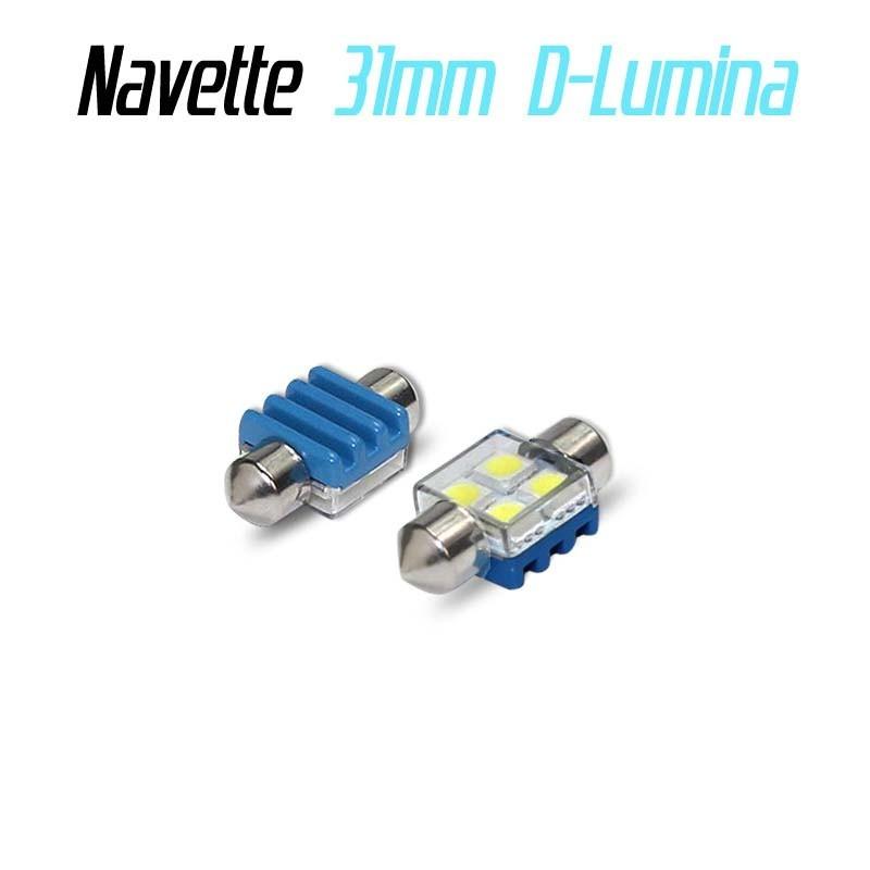Ampoule navette Led 4SMD A1 - anti erreur ODB