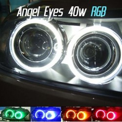 Pack Angel Eyes Led RGB H8 40w BMW E39 E53